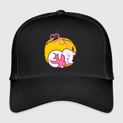 Chats, chat, amants de chat, propriétaire de chat - Trucker Cap
