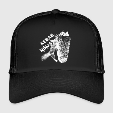 Kebab Ninja Squirrel - Trucker Cap