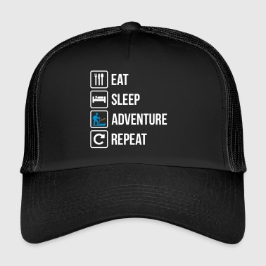 Eat Sleep Gjenta Adventure - Trucker Cap