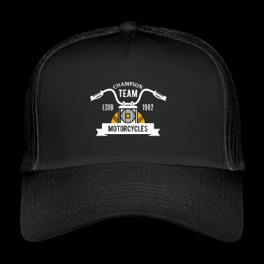 Champion Team Motorcycle - Trucker Cap