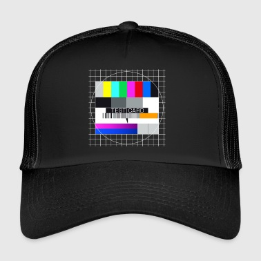 TV testbeeld Big Bang screenshot Mac-display - Trucker Cap