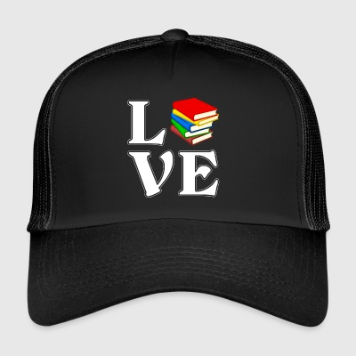 I love Books - read - Gift - Trucker Cap