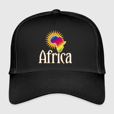 Africa Continent Wildlife Safari Roots Reggae Music - Trucker Cap