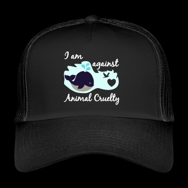 Animal welfare animal cruelty whale fish conservation - Trucker Cap