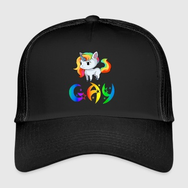 Unicorn gay - Trucker Cap