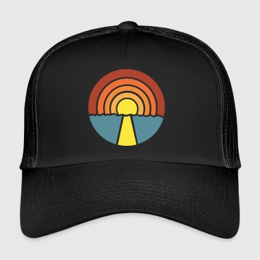 Chilling at sunset - Trucker Cap