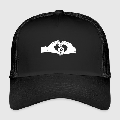 Coeur Mains Photo - Trucker Cap