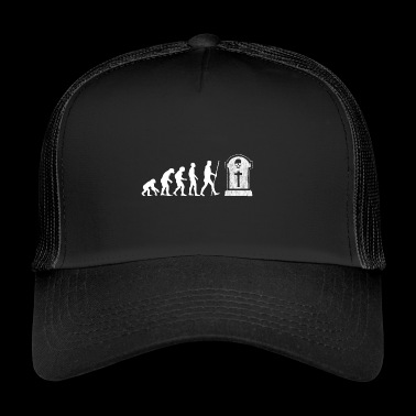 Evolution - tomba di pietra - alla fine - Regalo - Trucker Cap