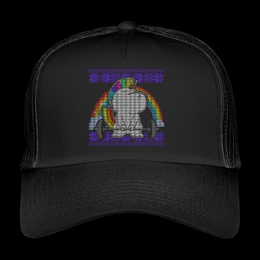 Rainbow Unicorn Lift - Trucker Cap