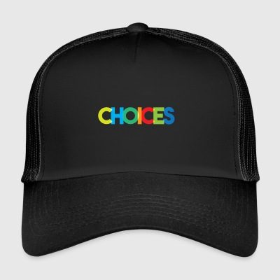 Choices Color - Trucker Cap