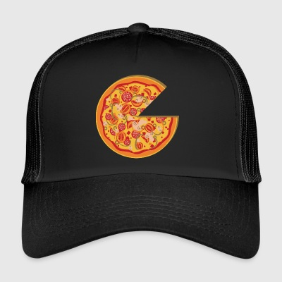 Partnerlook Pizza Partner BFF Friend Love Part 1 - Trucker Cap