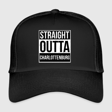 Straight Outta Charlottenburg! | Berlin Shirt - Trucker Cap