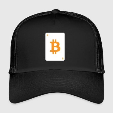 Bitcoin playing card - Trucker Cap