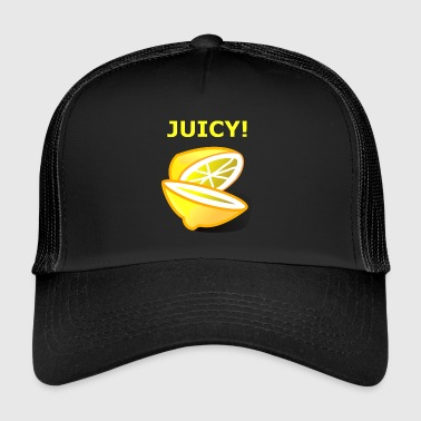 Juicy - motif de citron - idée cadeau - Trucker Cap