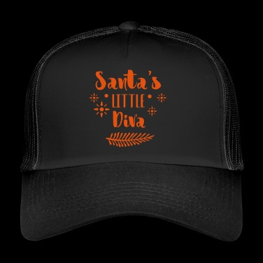 Santa Lady - Trucker Cap