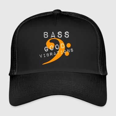 bass good vibrations - Trucker Cap