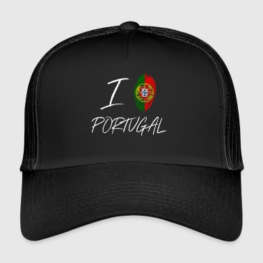 I love Portugal - Trucker Cap