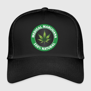 Marijuana Marijuana Medicine Legal - Trucker Cap