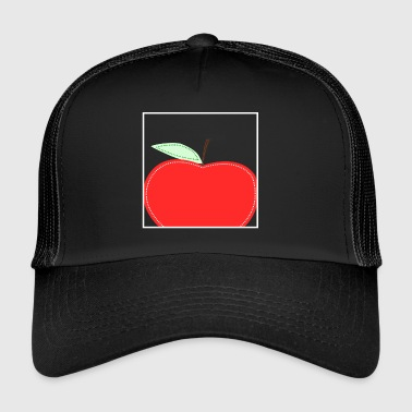 Apple fruits de légumes de fruits frais Alimentation saine - Trucker Cap