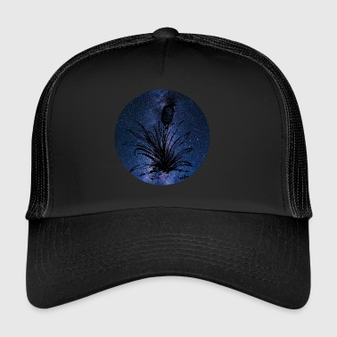 Pineapple plant and Milky Way - Trucker Cap