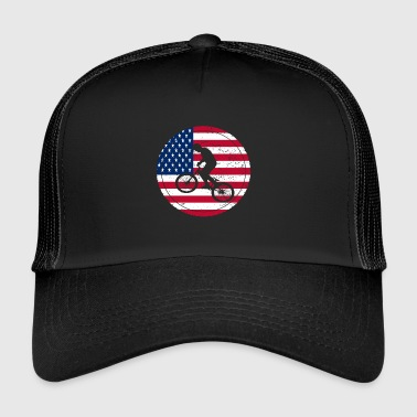 Fahrrad bmx love biking USA Amerika - Trucker Cap