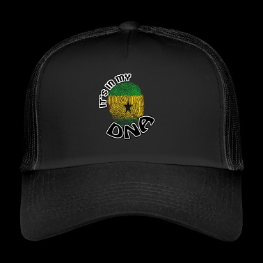 Gift Its in my dna dns roots Sa o Tome and Pr - Trucker Cap