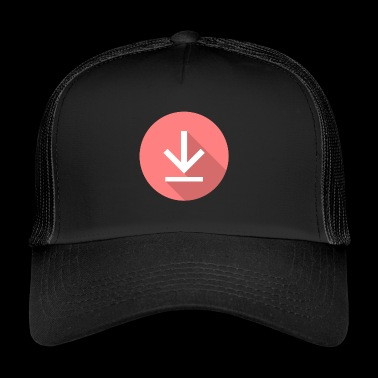 Download icon, icon Downloads - Trucker Cap