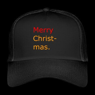 Merry Christmas - Trucker Cap