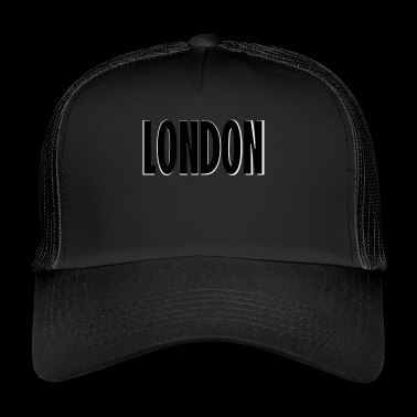 London black white shaded - Trucker Cap