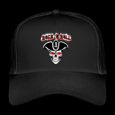 "Rock ""n Roll / rock and roll - Trucker Cap"