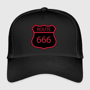 ROUTE 666 - Trucker Cap
