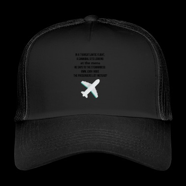 Transatlantic flights - Trucker Cap