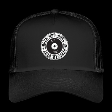 rock n roll - Trucker Cap