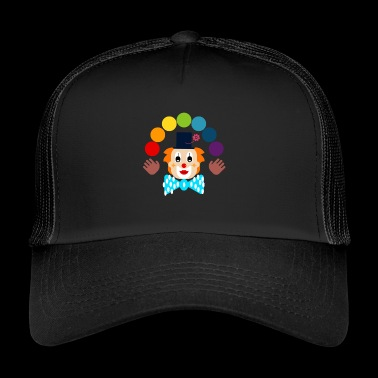 Clown juggling - Trucker Cap
