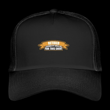 Retired - Trucker Cap