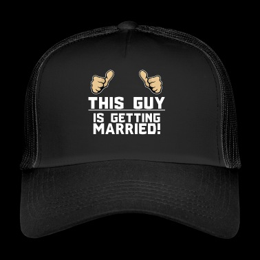 Bachelor Wedding Wedding Party Gift Idea - Trucker Cap