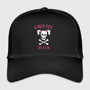 pirater tispe, Cutthroat, Pirate - Trucker Cap