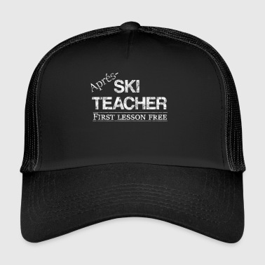Après-ski Teacher party saying gift idea - Trucker Cap