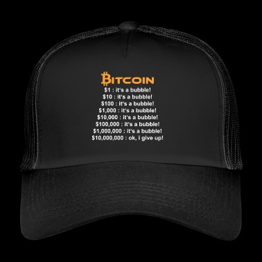 Bitcoin SE ON kupla - Trucker Cap