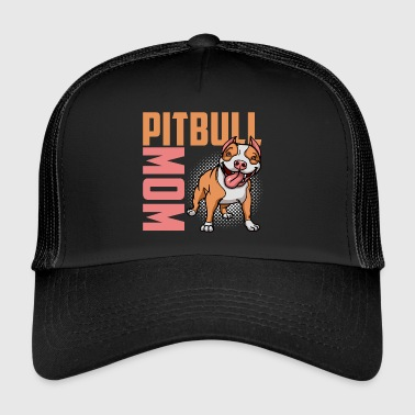 Best Pit Bull Mom T-shirt - Trucker Cap