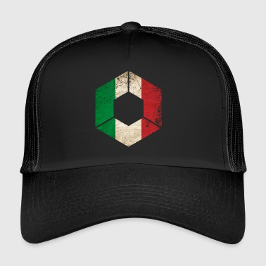 HEXAGON ITALY GRUNGE - Trucker Cap