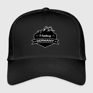 Hamburg, Germany - Trucker Cap