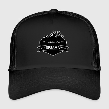 Frankfurt am Main Germany - Trucker Cap