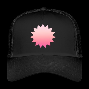 Simple design carré rose simple - Trucker Cap