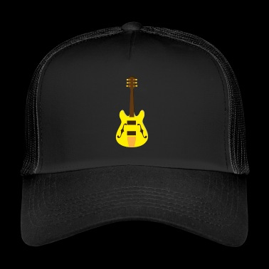 Electric guitar - Trucker Cap
