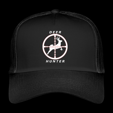Deer Hunter - Hunter / Hunt / Crosshair - Trucker Cap