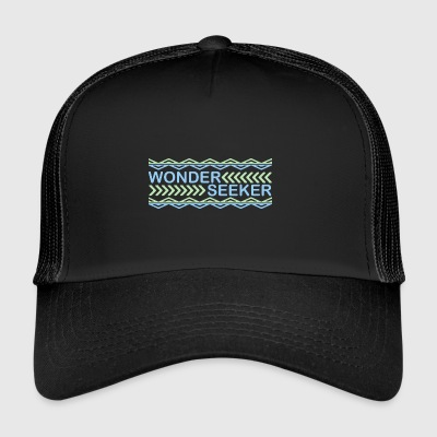 wonder seeker - Trucker Cap