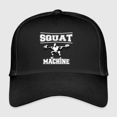 squat MACHINE - Trucker Cap