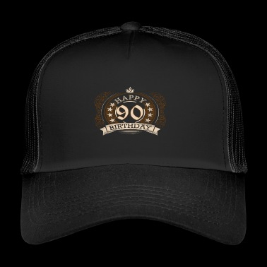 90th birthday - Trucker Cap