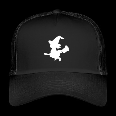 Witch, broom, witch - Trucker Cap